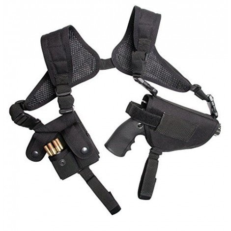Holster d'épaule ambidextre Strike Systems noir ASG