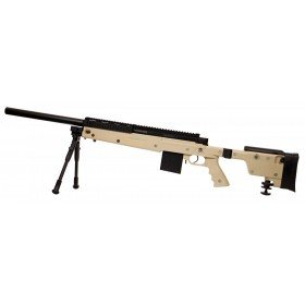 Swiss Arms S.A.S 06 TAN Sniper style L96 280737 Cybergun 1.9 joules