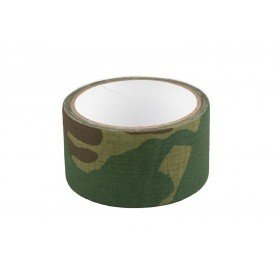 Bande de Camouflage Flecktarn 5mX50mm Tissu auto adhésif