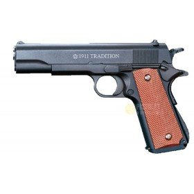 Plan Beta Pistolet 1911 Tradition Noir Spring 0.3 Joules
