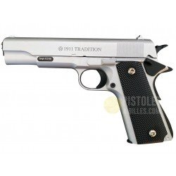 Plan Beta Pistolet 1911 Tradition Silver Spring The Equalizers