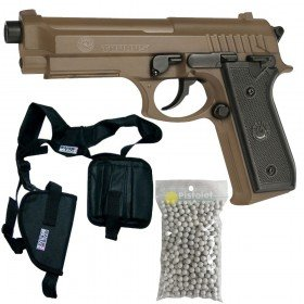 Pack Taurus PT92 Replicas 210117 Cybergun - Métal TAN