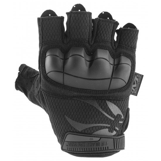 Mitaines BO MTO FIGHTER Black by Mechanix M-pact fingerless