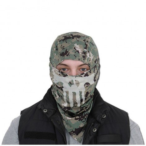 Cagoule AOR2 Emerson Punisher Militaire Airsoft Chasse EM6634D