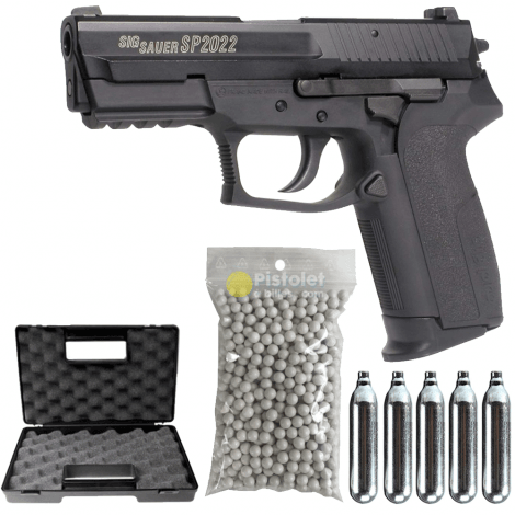 Pack Sig Sauer Sp2022 Co2 Swiss Arms 280301 0,9 Joules
