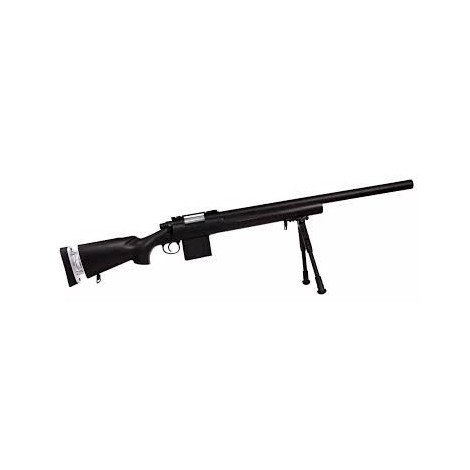 Fusil High Power Sniper Swiss Arms S.A.S 04 noir 280732.