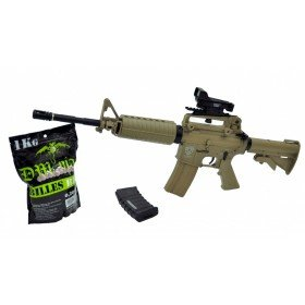 PACK M4 Blowback sportline tan