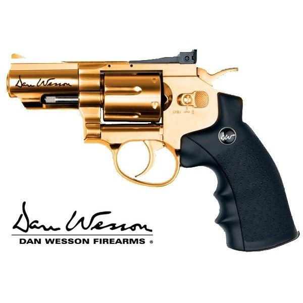 Dan Wesson 2.5 pouces Gold ASG Co2