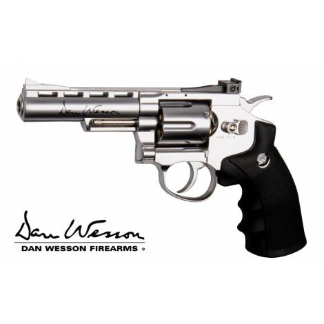 Dan Wesson 4 Pouces Chrome ASG Co2
