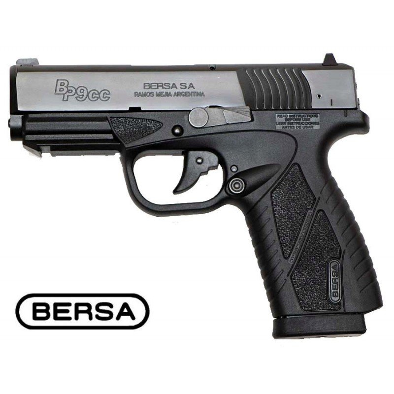 bersa bp9cc co2 blowback asg airsoft pistolet a. Black Bedroom Furniture Sets. Home Design Ideas