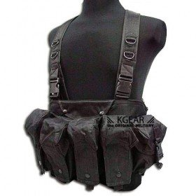 Gilet tactique Chest Rig noir