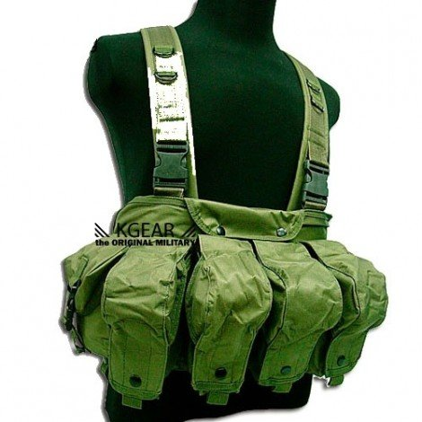 Gilet tactique Chest Rig vert