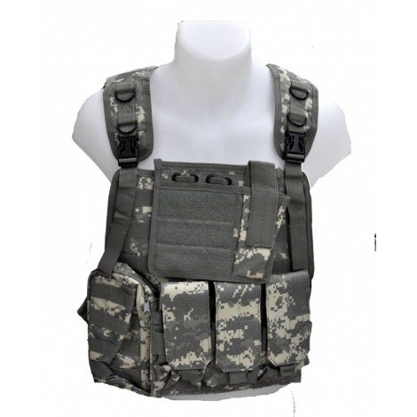 Gilet tactique modulable type CIRAS ACU Digital Airsoft