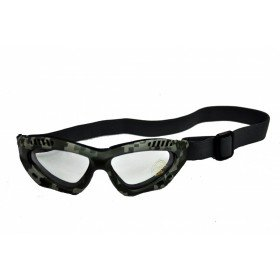 Lunettes de protection camo digital ACU Verre Uv Transparent