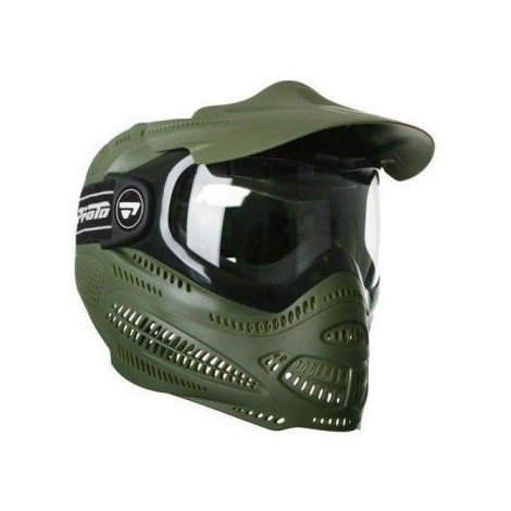 Proto Switch Field Olive Paintball Masque Integral Airsoft 40045501
