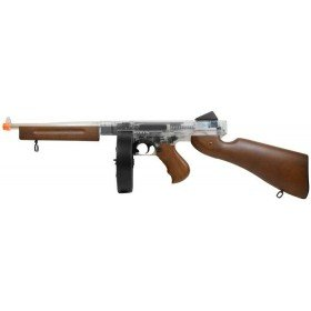 Thompson M1A1 military transparente