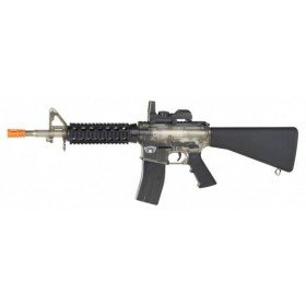 Blackwater M4 A1 RIS Full Stock Transparent Cybergun 0.5 Joules