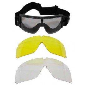 Masque de protection Triples Verres MFH