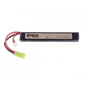 Batterie lipo 7.4v 1200 Mah 8fields