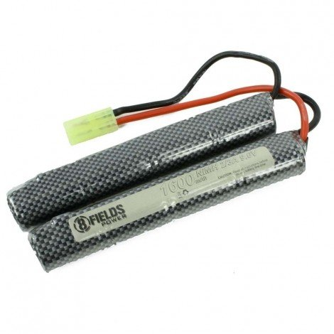 Batterie double baton 9.6 Volt-1600 mAh 8fields