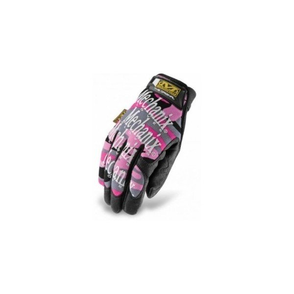 Gants mechanix Women's original Pink camo L