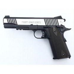Colt 1911 Rail Gun Dual Tone Co2