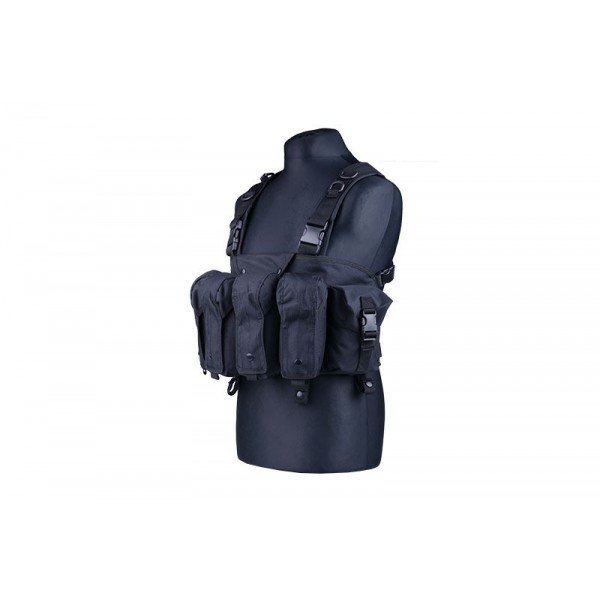 Tactical Chest Rig Noir