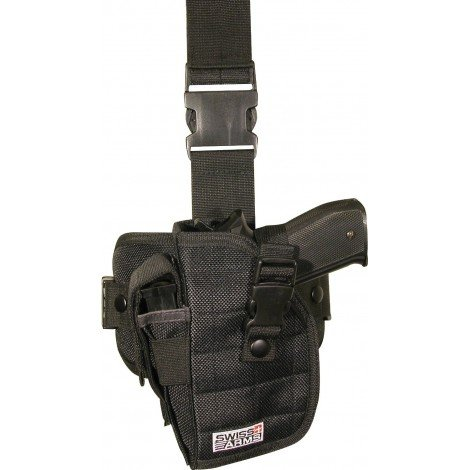 Holster de cuisse gaucher Swiss Arms