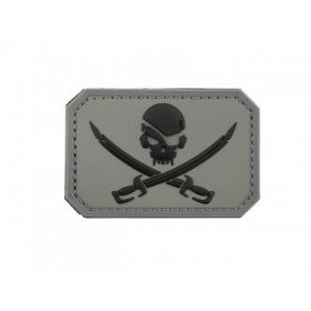 Patch PVC 3D Pirate Gris Emerson