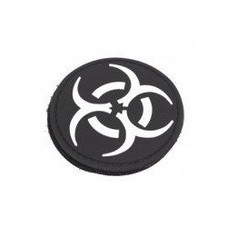 Patch PVC 3D Blanc Biohazard 1 Emerson