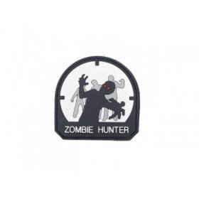 Patch PVC 3D Zombie Hunter Gris Clair Emerson