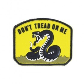 Patch PVC 3D Don't Tread On Me Emerson