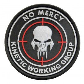 Patch PVC 3D No mercy Emerson