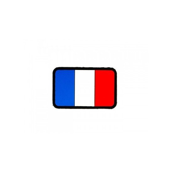 Patch PVC 3D Drapeau France Emerson