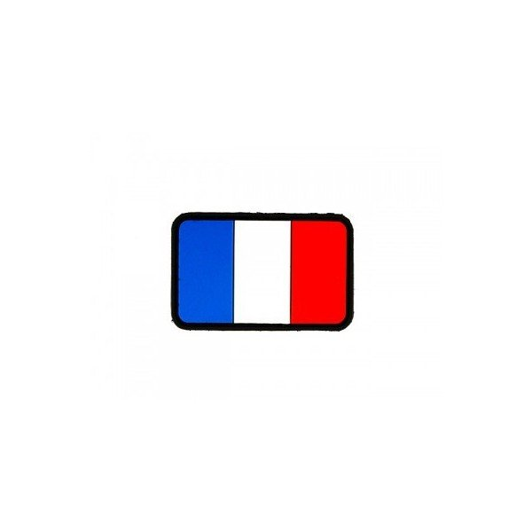 Patch PVC 3D Drapeau France