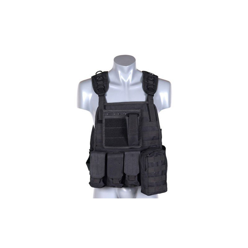 plate carrier digital noir airsoft pistolet a. Black Bedroom Furniture Sets. Home Design Ideas