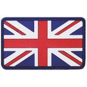 Patch PVC 3D Drapeau UK MFH