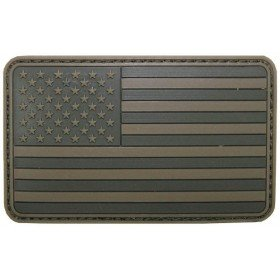 Patch PVC 3D Drapeau USA OD MFH