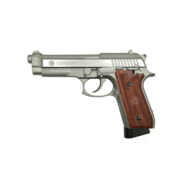 Taurus Pt92 Hairline Silver