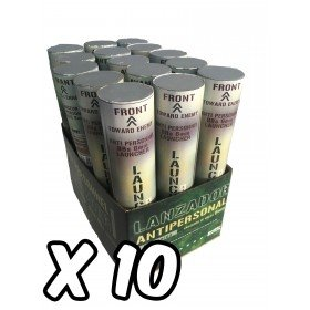 Pack de 10 Lanceurs antipersonnel de billes 6mm Swiss Arms