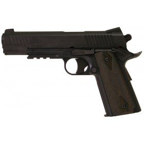 Colt 1911 Rail Gun Blackened NBB Series