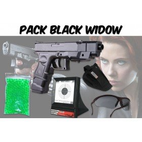 Pack Avenger Black Widow