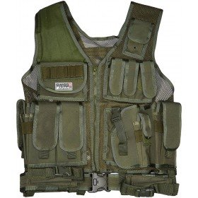 Gilet tactique swiss arms OD