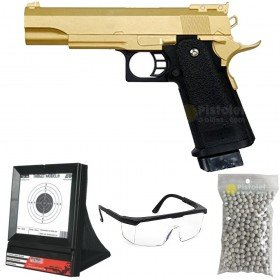 Pack G.6G Galaxy style hi-capa grand modèle Gold