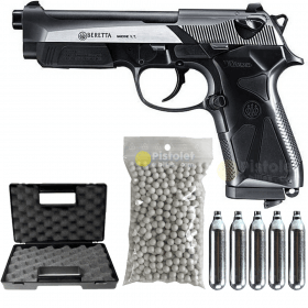 Pack Colt 1911 Rail Gun Blackened NBB Series