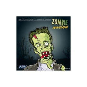 100 Cibles Zombie Nation pour cible en métal ASG