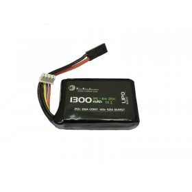 Batterie Li-po 11.1V 1300mAh 20c/40c WE Airsoft