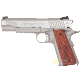 Colt 1911 Rail Gun Stainless Co2 Cybergun 180530